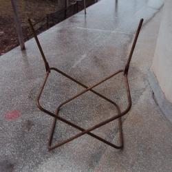 Ретро столче за риболов къмпинг градината и дома