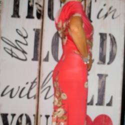Българска дълга рокля на цветя Мiss Chic, М номер