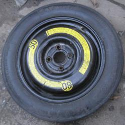 Резервна гума 125 85r15 Countinental тип патерица за Фолцваген Голф 4