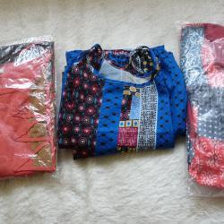 Дамски рокли - 3 броя, размер 5Хl - гръндж мода