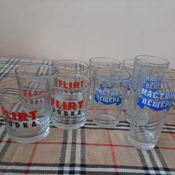 чаши стъклени