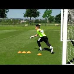 Вратарски тренировки по футбол за деца и юноши