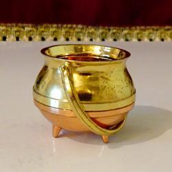 Менче бронзова миниатюра, позлата