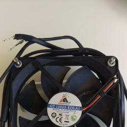 Вентилатор 12v, 0,12amp