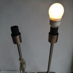 Двойка старинни нощни лампи
