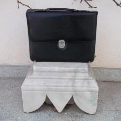 Уникална бизнес чанта за документи лаптоп с лого и етикет