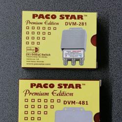 Дайсек ключове Paco Star Diseqc Dvm-281, Dvm-481