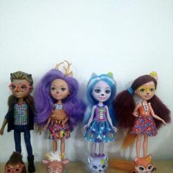 Enchantimals Кукла с приятелче - Enchantimals Doll Mattel
