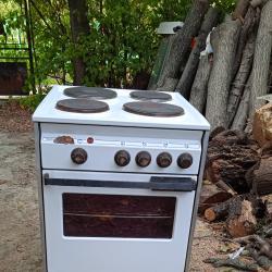 Електрическа емайлирана готварска печка Siemens