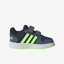 Намаление Бебешки спортни обувки Adidas Hoops Сиво