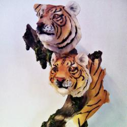 статуетка-2 тигъра