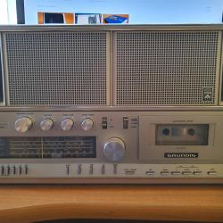Grundig RR 3000 Boombox Cassette Stereo Radio Recorder 1982 Vintage