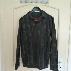 Мъжка памучна риза р - р Л - Индия