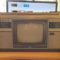 Philips Combi Tc-10, TV Stereo Radio Recorder