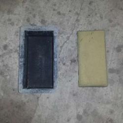 Пластмасови калъпи за бетонни павета