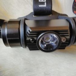 Супер мощен LED челник с акумулаторни батерии и LED диод 300лм