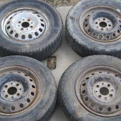 4бр Железни джанти за Фиат Пунто 4х98 Fiat Punto