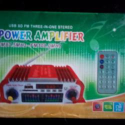 авто радио, мр3, усилвател 4х 20вата 12в. с дистанционно
