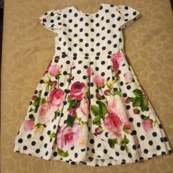 Официална детска рокля