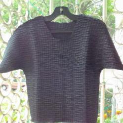 Черна официална блузка