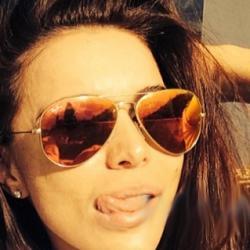 Ново Оранжеви авиаторски слънчеви очила като на Алисия