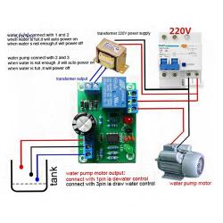 Контролер за нивото на течността, сензорен модул за откриване на нивот