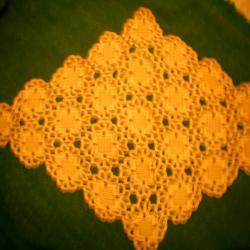 каре плетено на една кука