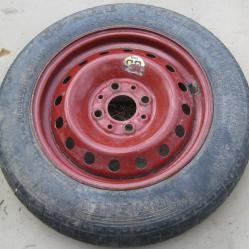1бр Резервна гума с джанта 135 80 13 тип патерица за Фиат Пунто