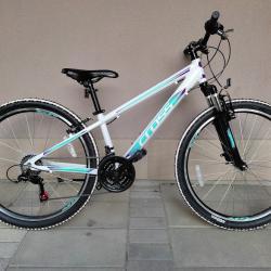Продавам колела внос от Германия алуминиев велосипед Daisy Cross 26 цо