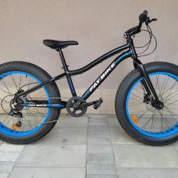 Продавам колела внос от Германия алуминиев велосипед FAT Bike 24 цол
