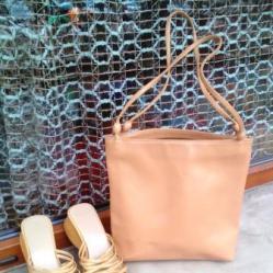 Комплект чанта и сандали чехли
