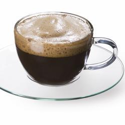 Комплект от 4 чаши за кафе Simax със стъклени подложки