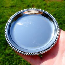 Посребрена чинийка, подложка Bbi.