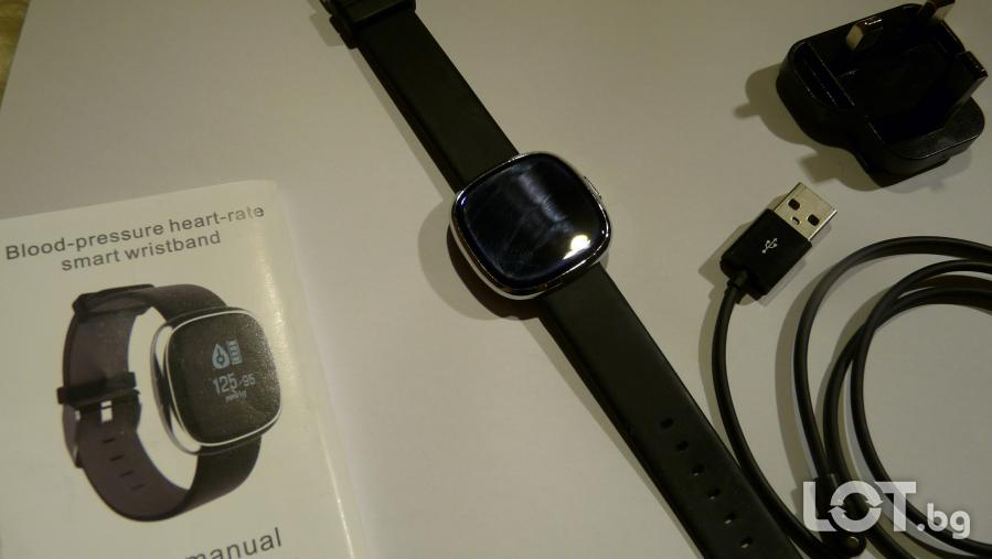Смарт Грейслет фитнес часовник - 2 вида, полезен подарък