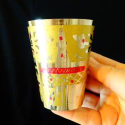 Бронзова чаша Индия, не използвана.