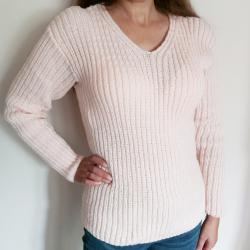 Ръчно плетена блуза