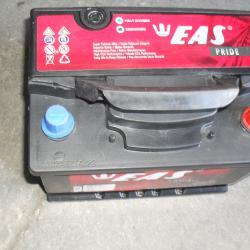 Акумолатор EAS 12v 60ah 490A Стартов ток