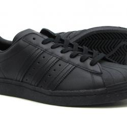 Ниски кожени кецове Adidas Superstar Черно 36, 36.5 и 37 номер