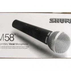 Вокален микрофон Shure Sm58 за караоке и презентации - кабелен