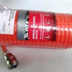 Маркуч за въздух ф6мм 5м спирален с бързи връзки, MTX