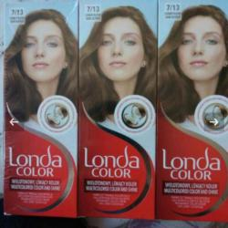 Три броя боя за коса Londa Color 7 13 Тъмнорусо.