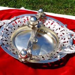 Старинен сребърен съд 402 грама.
