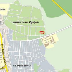 Продава УПИ 640 кв. м. в. з. Орфей - гр. Хасково