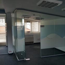 Офис 420 кв. м. в луксозна бизнес сграда, ул. Сребърна, ет. 7 9,5000 E..