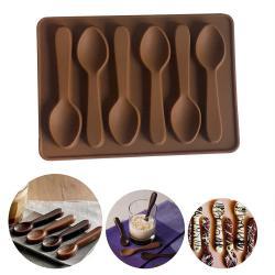 2466 Силиконова форма за шоколадови лъжички