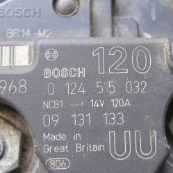 Динамо Bosch 0124515032 Опел Астра г Opel Astra G 14v - 120..