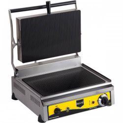Професионален електрически тостер със стъклена оребрена повърхност