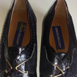 Дамски лакирани обувки, 26-5 см