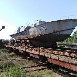 Купувам кораби и други големи метални съоръжения за нарязване за скрап