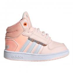 Намаление Бебешки спортни обувки Adidas Hoops Оранжево Розово